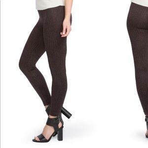 NWOT SPANX print seamless leggings size M